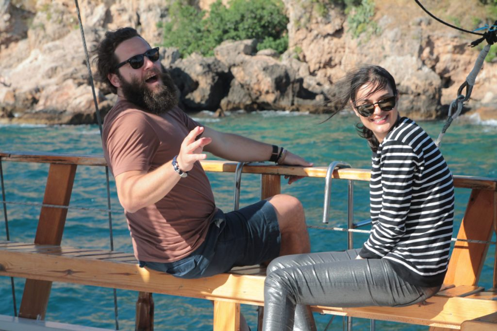 2016: Boat trip, Antalya, media event
